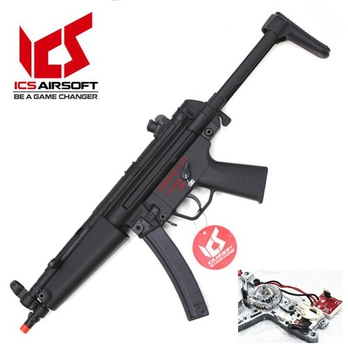 ICS社 CES-P S3 Retractable Stock (MP5A5 Full Metal AEG_) 전동건