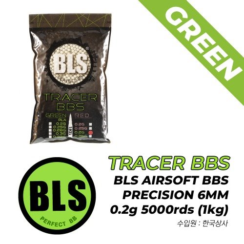 BLS Tracer BBS 5000rds / Green