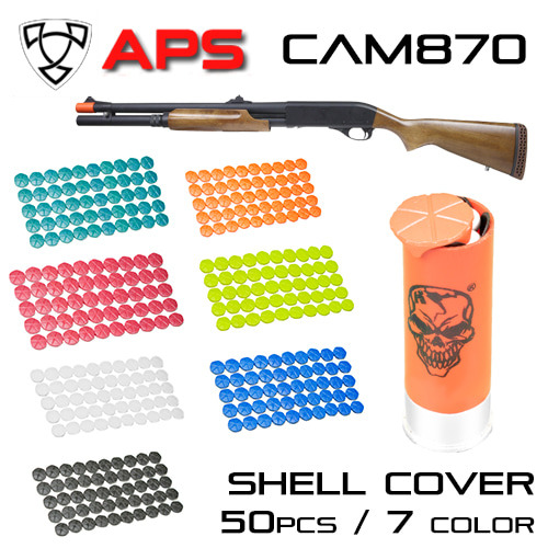 CAM Shell Plastic Cover 50pcs / 7 Color