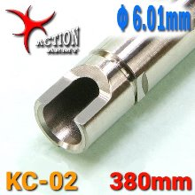 Stainless Φ6.01mm Inner Barrel / 380mm - KC-02