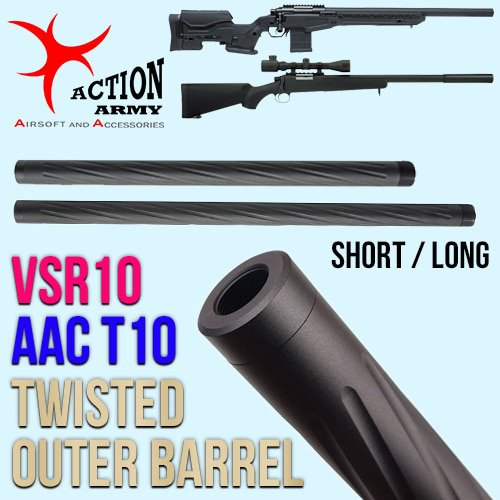 Twisted Outer Barrel / VSR 10, AAC T10
